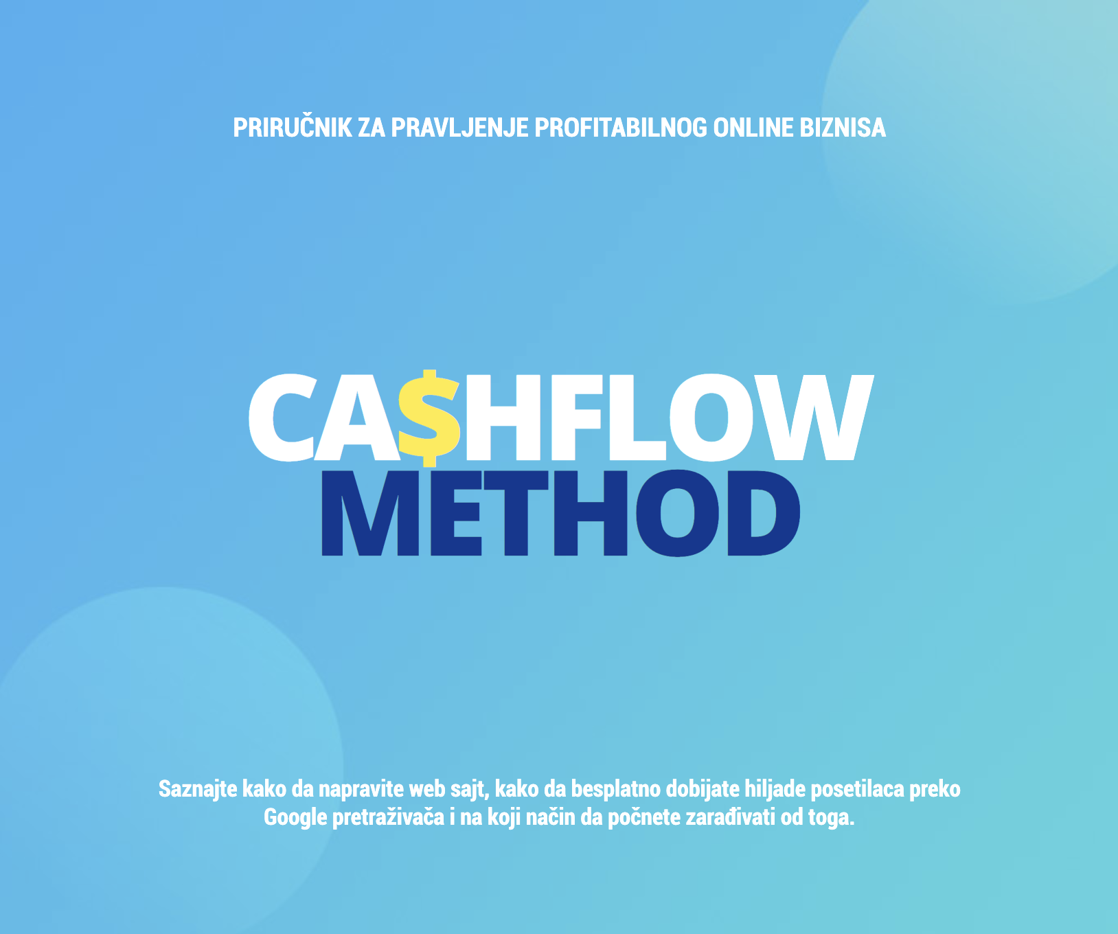 Priručnik CashFlow method